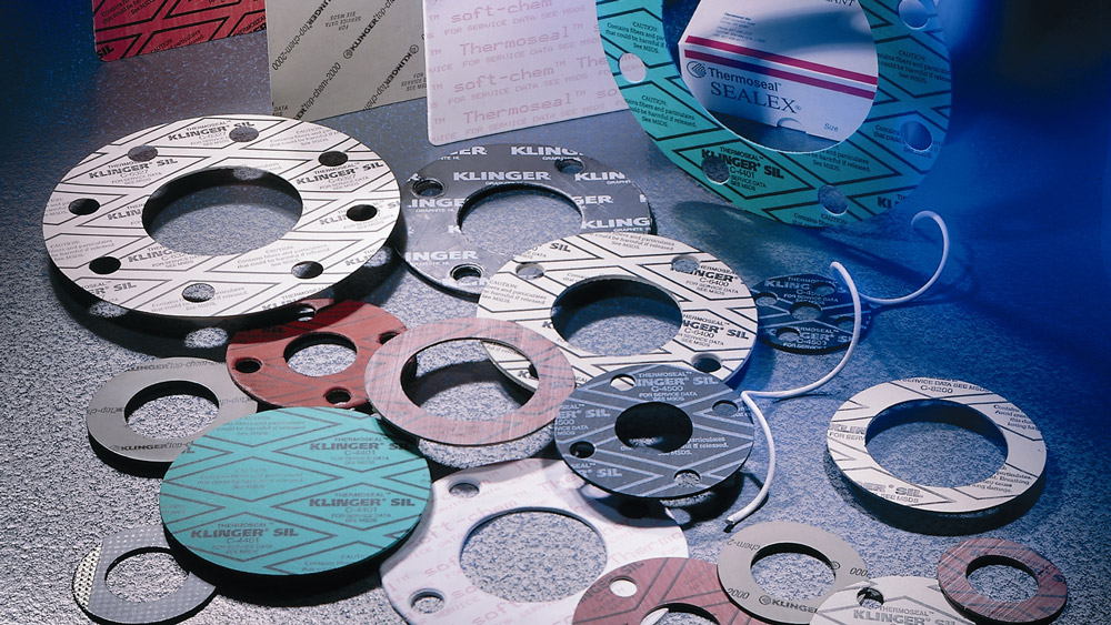 Cut parts from gasketing & sealing material