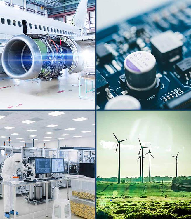 Precision Material Converter | Klinger IGI | Served Industries